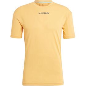 adidas TERREX Parley Agravic TR Allaround T-Shirt Men hazy orange